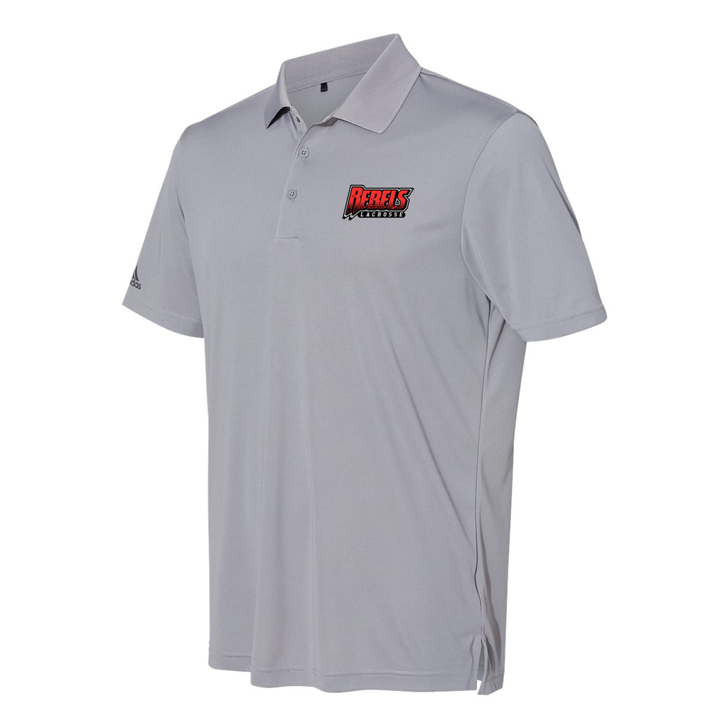 Rebels Lacrosse Adidas Performance Sport Polo