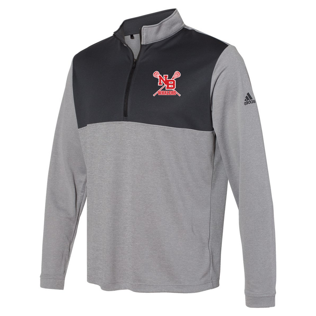 New Bedford Lacrosse Adidas Lightweight Quarterzip Pullover