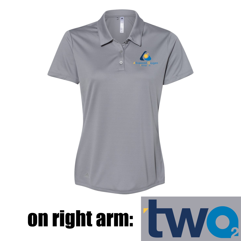Advanced Oxygen Therapy Adidas Women's Polo