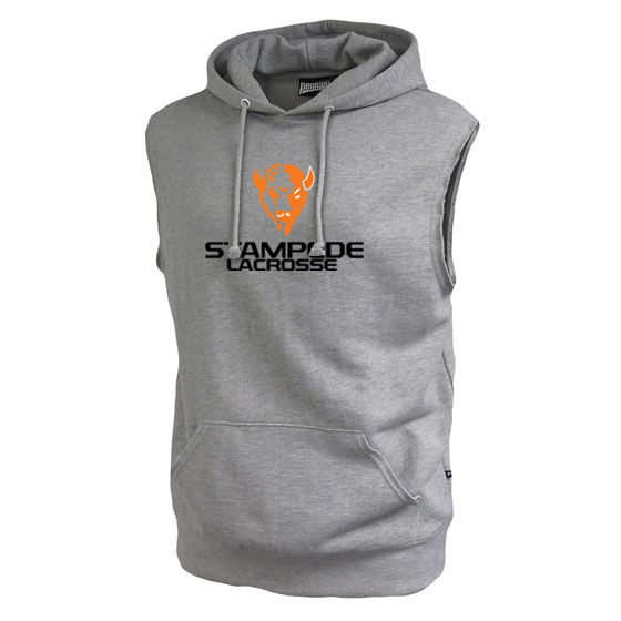 South Suburban Stampede Fleece Sleeveless Hoodie