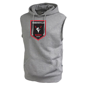 Robbinsville Lacrosse Association Fleece Sleeveless Hoodie