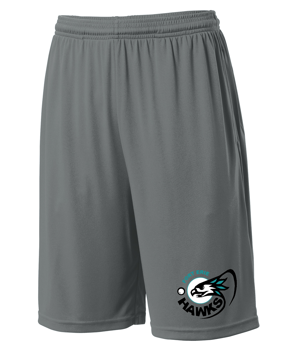 Fort Erie Hawks Grey Shorts