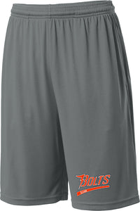 Illiana Thunderbolts Grey Shorts