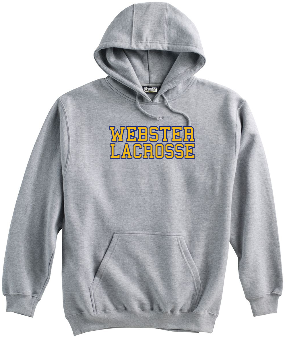 Webster Lacrosse Grey Sweatshirt