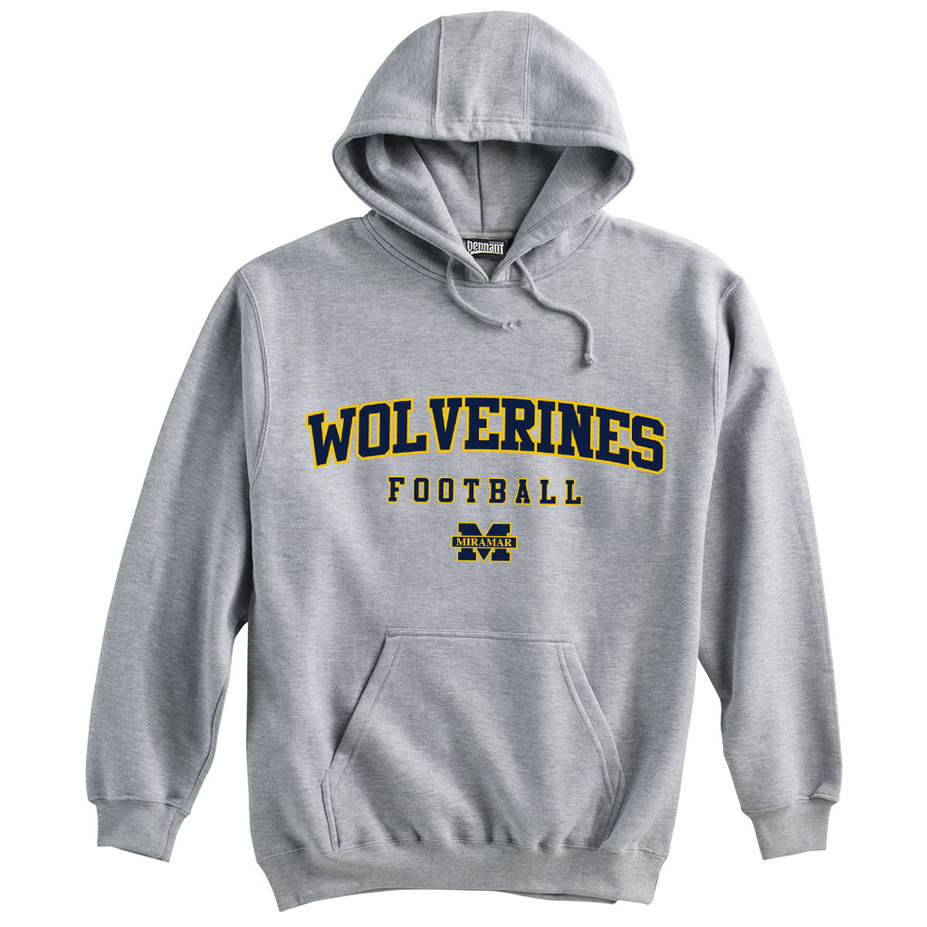 Miramar Wolverines Football Sweatshirt