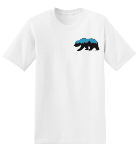 Grizz Lacrosse Logo T-Shirt