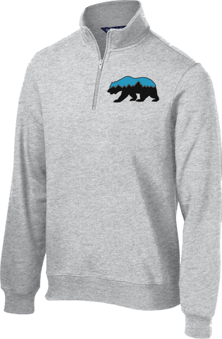 Grizz Lacrosse 1/4 Zip Fleece