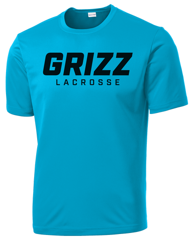 Grizz Lacrosse Performance T-Shirt