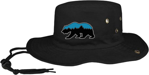 Grizz Lacrosse Bucket Hat