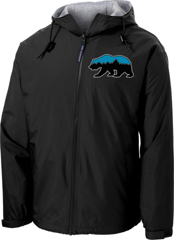 Grizz Lacrosse Hooded Jacket