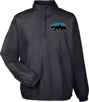 Grizz Lacrosse Quarterzip Windbreaker