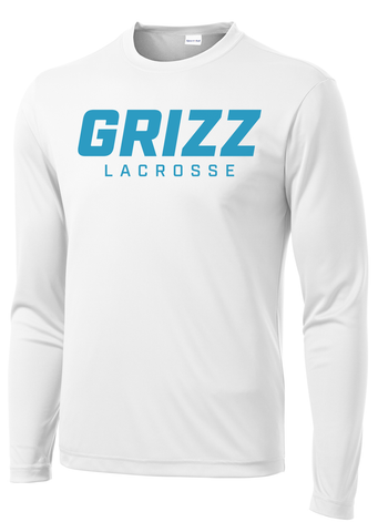 Grizz Lacrosse Long Sleeve Performance Shirt