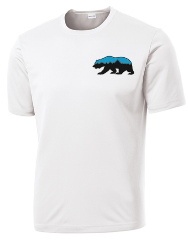 Grizz Lacrosse Logo Performance T-Shirt