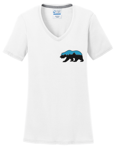 Grizz Lacrosse Logo Women's T-Shirt