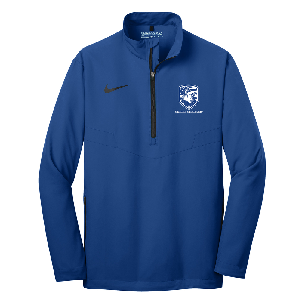 Accompsett Cross Country  Nike 1/2 Zip Wind Shirt