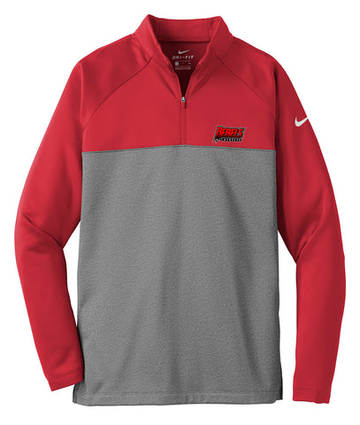 Rebels Lacrosse Gym Red/Grey Nike Therma-FIT Fleece