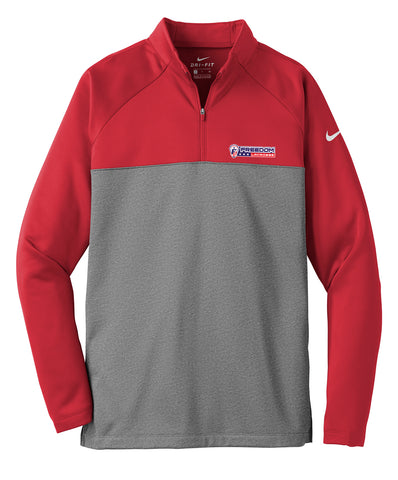 Freedom Lacrosse Gym Red/Dk Grey Nike Therma-FIT Fleece