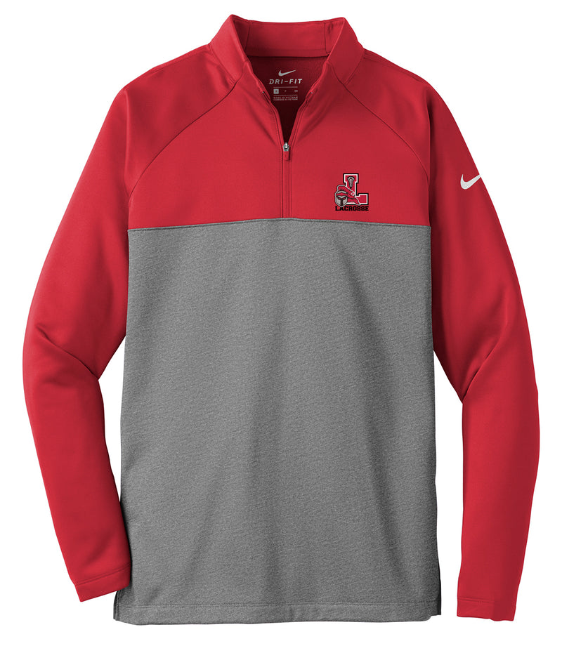 Lancaster Legends Lacrosse Red/Grey Nike Therma-FIT Fleece