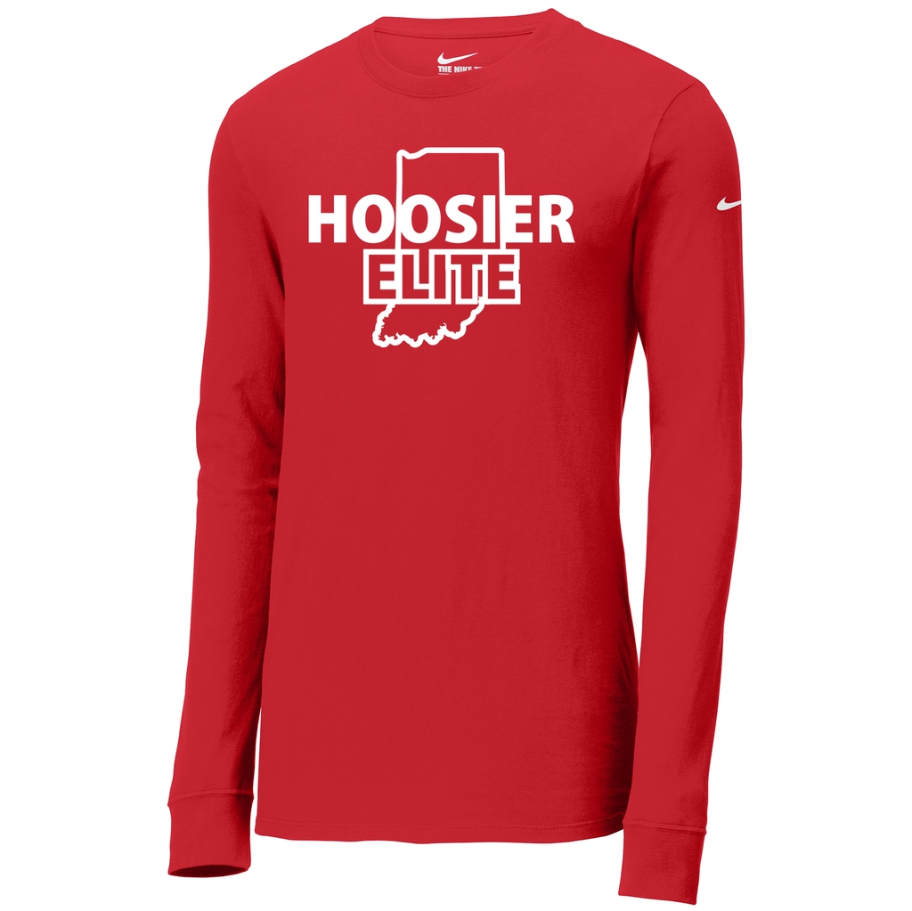 Hoosier Elite BasketballNike Core Cotton Long Sleeve Tee