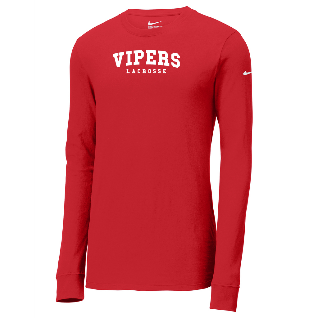 Fort Collins Lacrosse Nike Core Cotton Long Sleeve Tee
