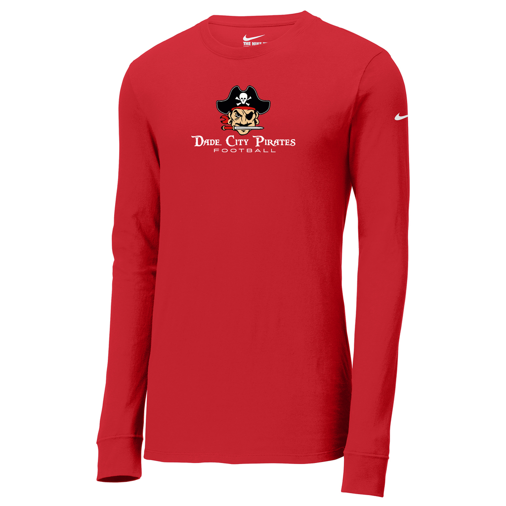 Dade City Pirates Nike Core Cotton Long Sleeve Tee