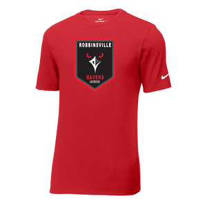 Robbinsville Lacrosse Association Nike Core Cotton Tee