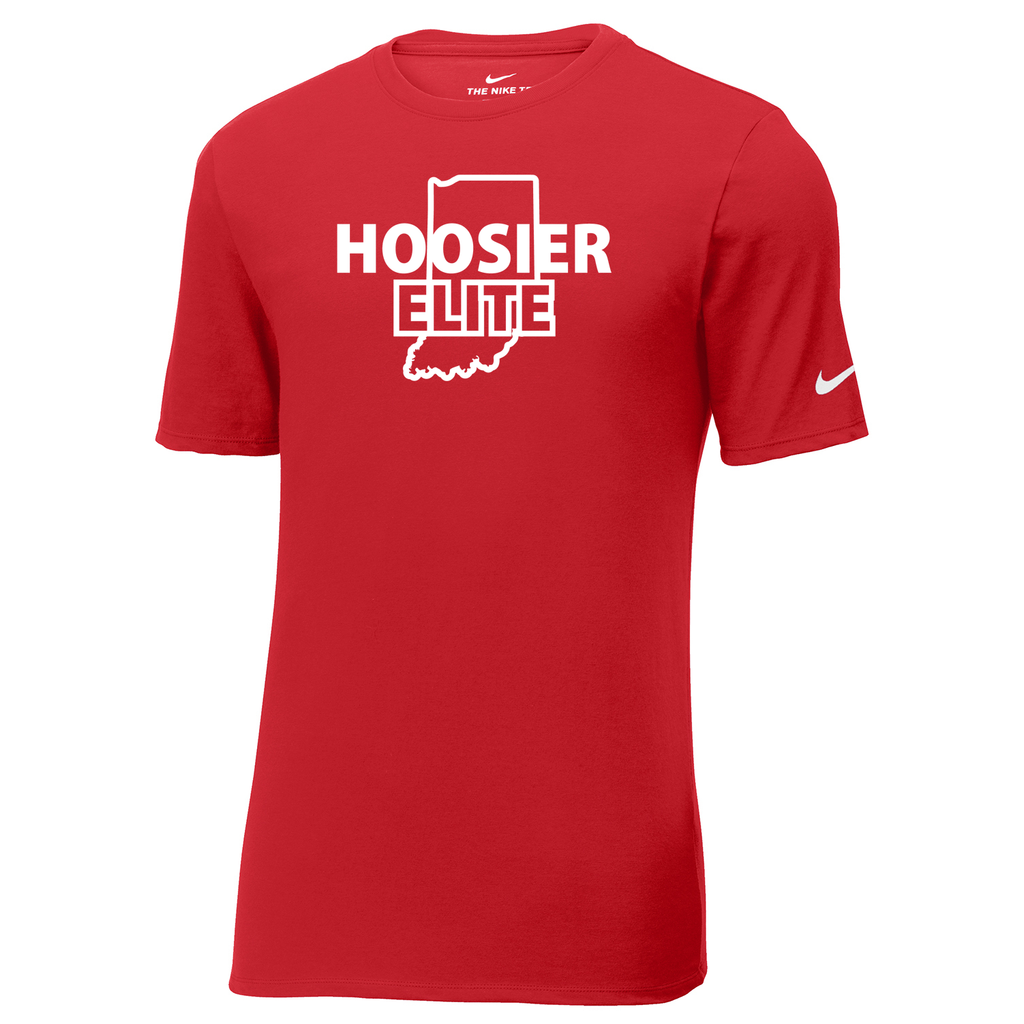Hoosier Elite Basketball Nike Core Cotton Tee