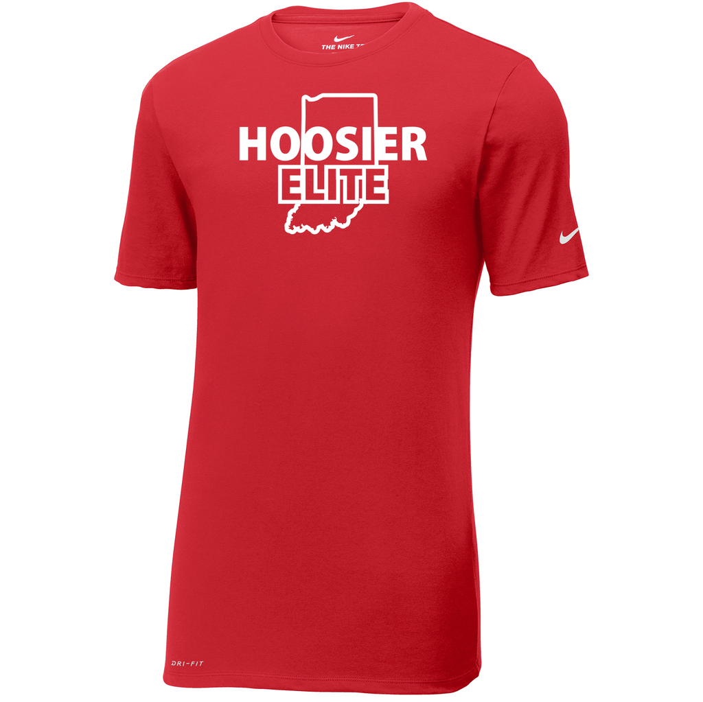 Hoosier Elite Basketball  Nike Dri-FIT Tee