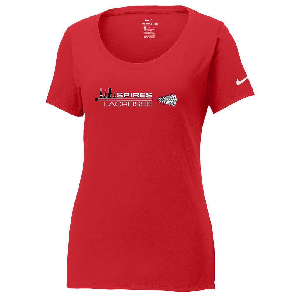 Spires Lacrosse Nike Ladies Core Cotton Tee