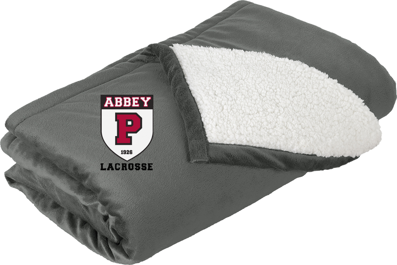Portsmouth Lacrosse Grey Blanket
