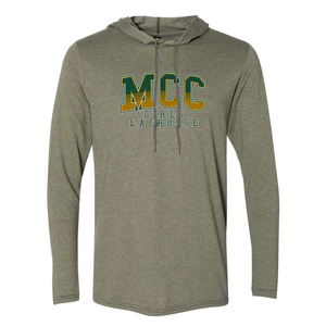 MCC Lacrosse Hooded Long Sleeve Tee