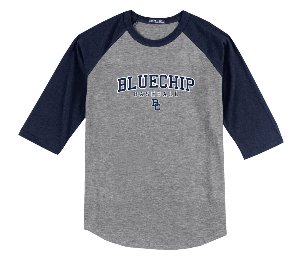 BlueChip Baseball 3/4 Sleeve Baseball Shirt