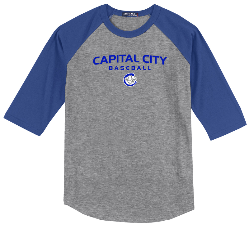 Capital City Baseball 3/4 Sleeve Baseball Shirt