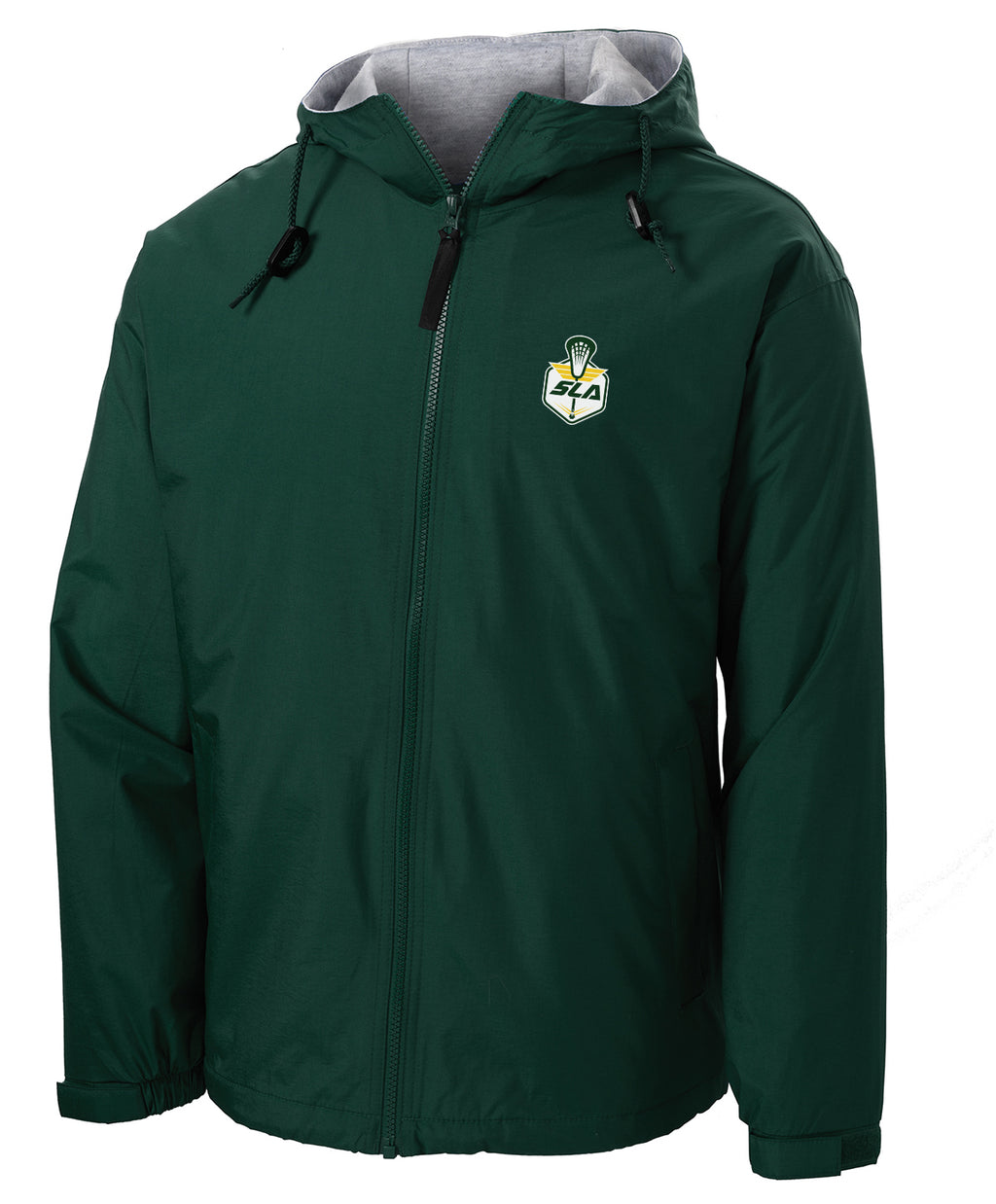 Sycamore Lacrosse Association Green Hooded Jacket
