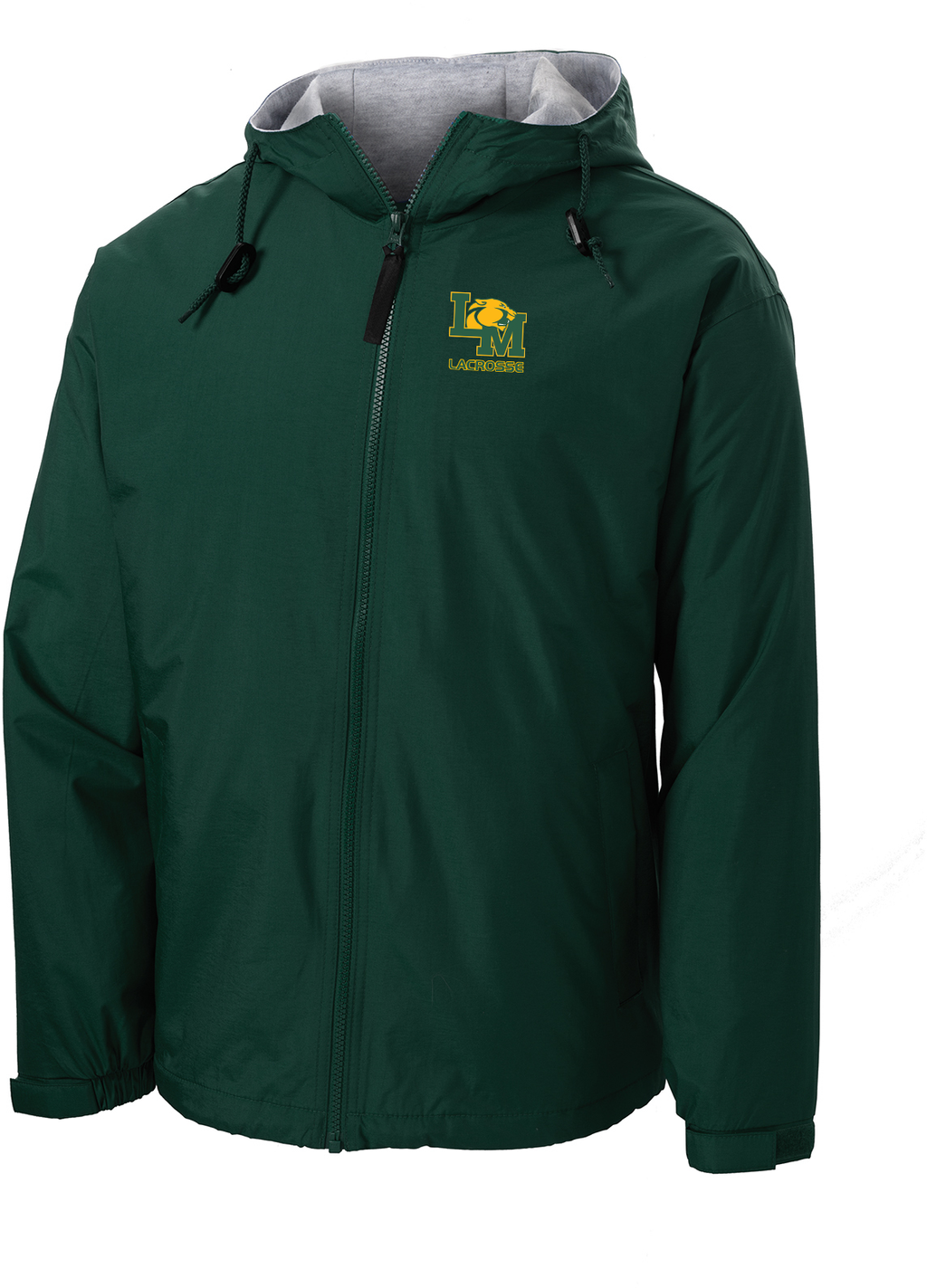 Little Miami Lacrosse Forest Green Hooded Jacket