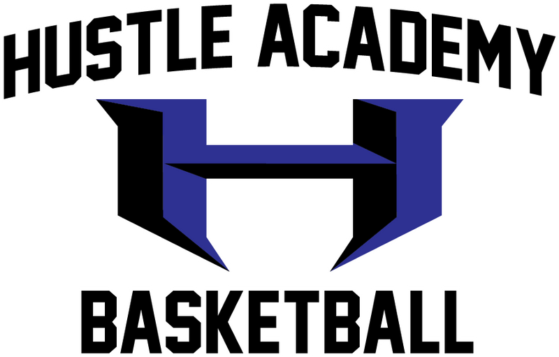 Hustle Academy Basketball Car Decal