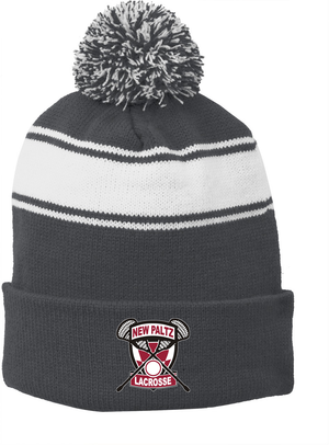 New Paltz Youth Lacrosse Pom Pom Beanie