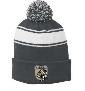 Broken Arrow Lacrosse Pom Pom Beanie