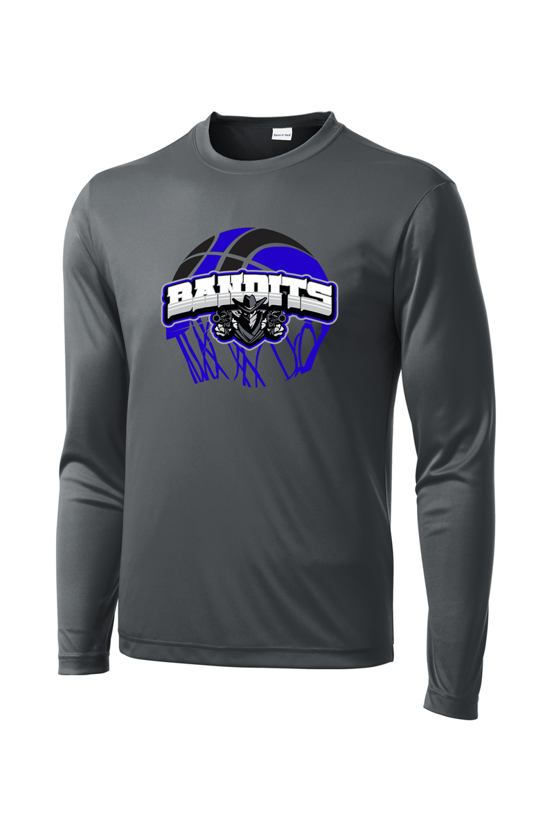 Capital City Bandits Basketball Long Sleeve CottonTouch Performance Shirt