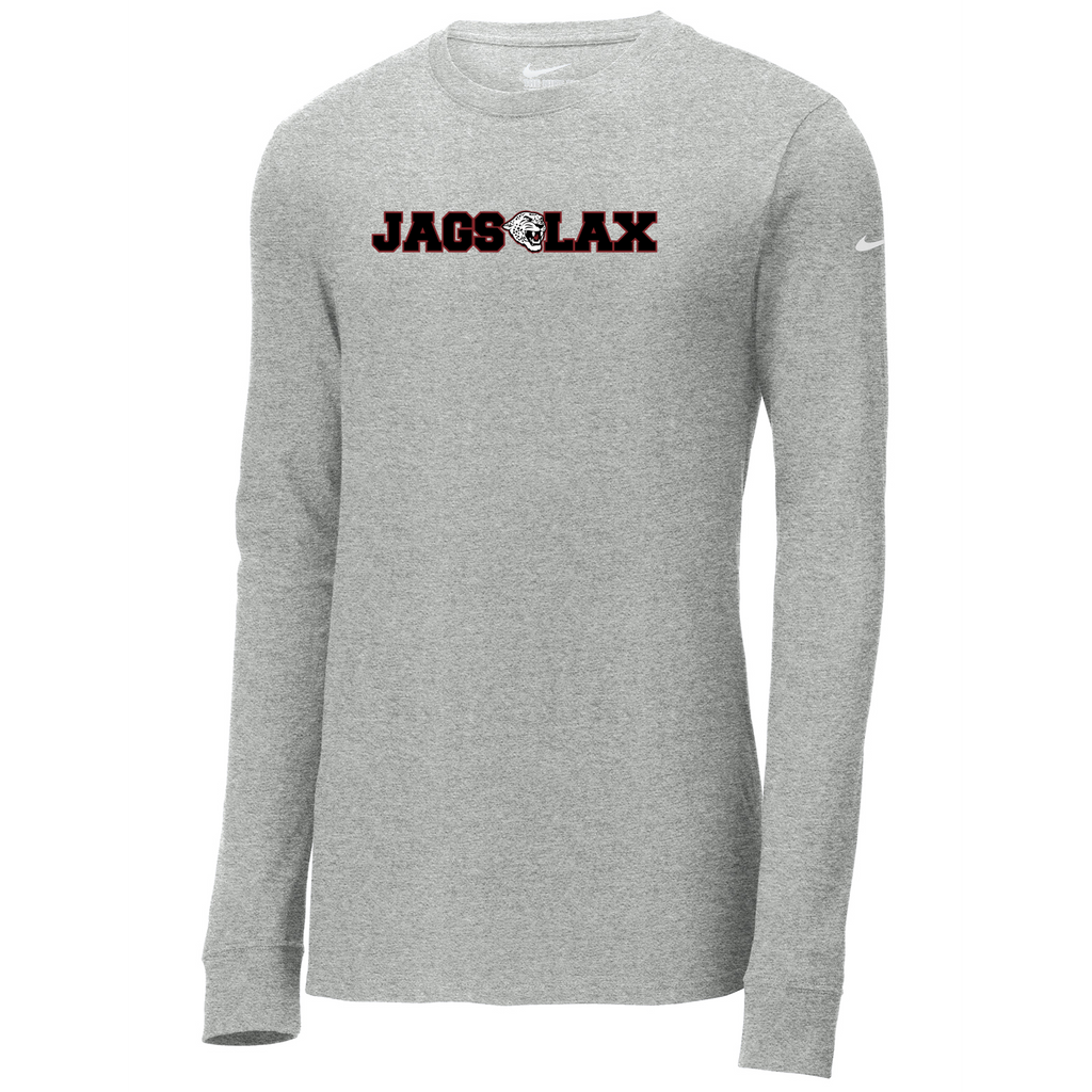 Jags Lacrosse Nike Core Cotton Long Sleeve Tee