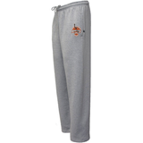 Jersey City Lacrosse Grey Sweatpants Shield Logo