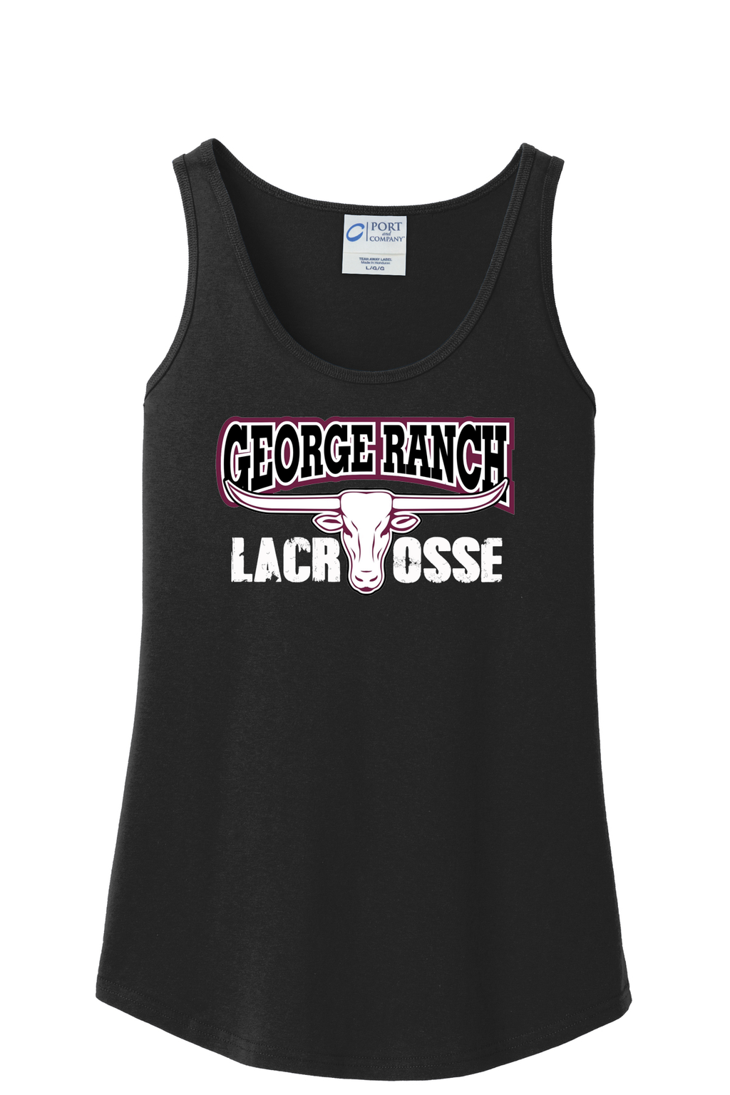 GR Longhorns Lacrosse Women's Tank Top