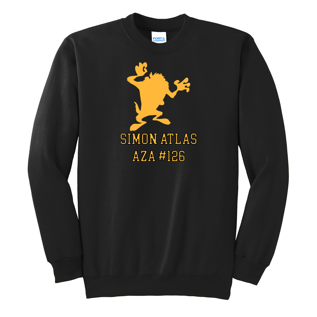 Simon Atlas  Crew Neck Sweater