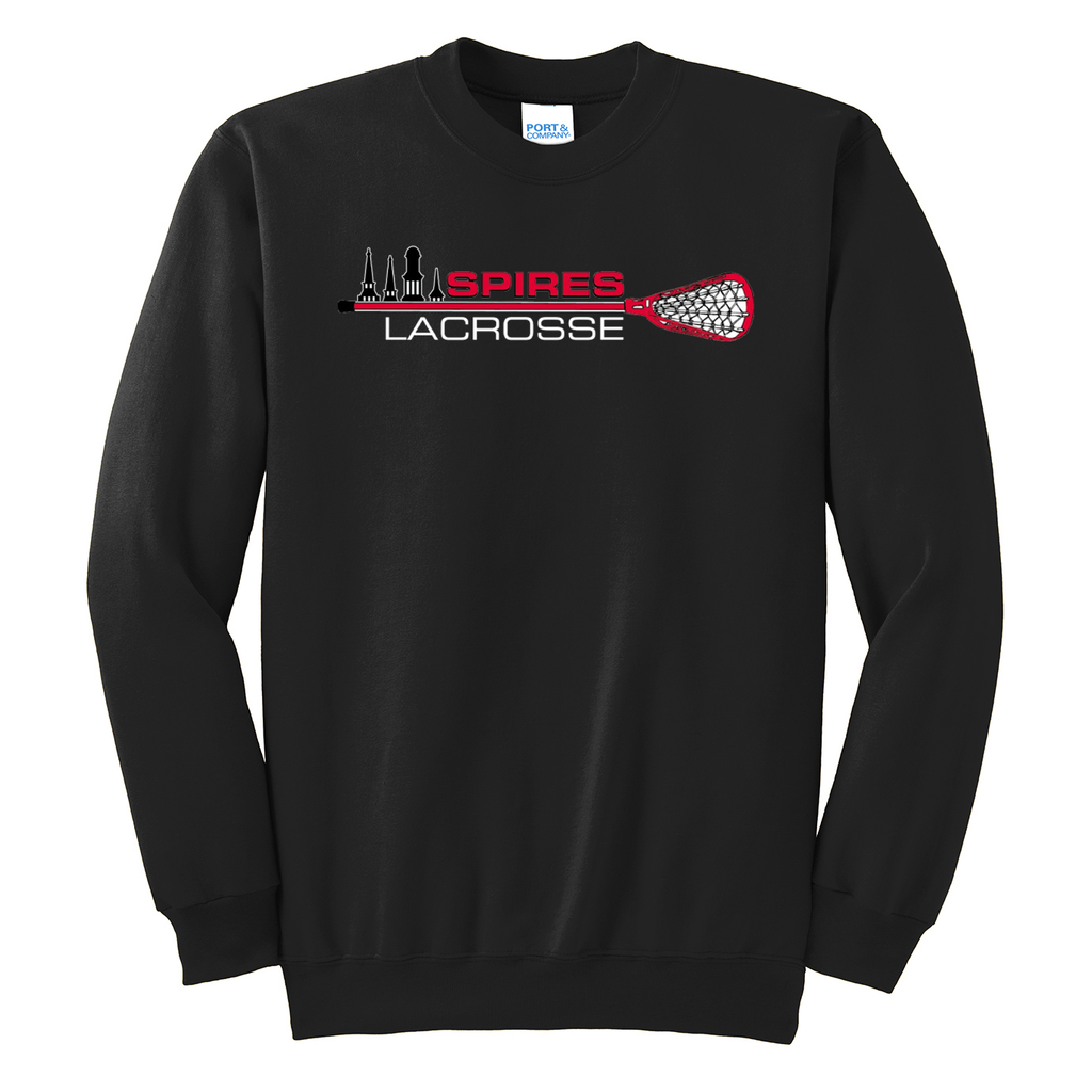 Spires Lacrosse Crew Neck Sweater