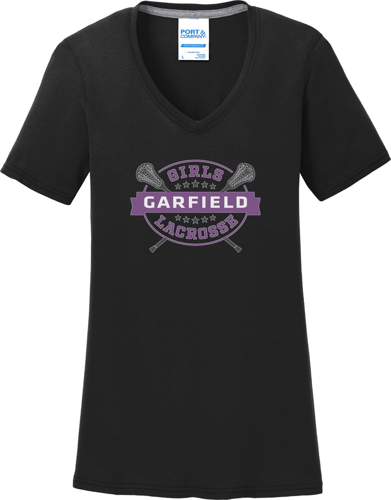 Garfield Women's Black T-Shirt