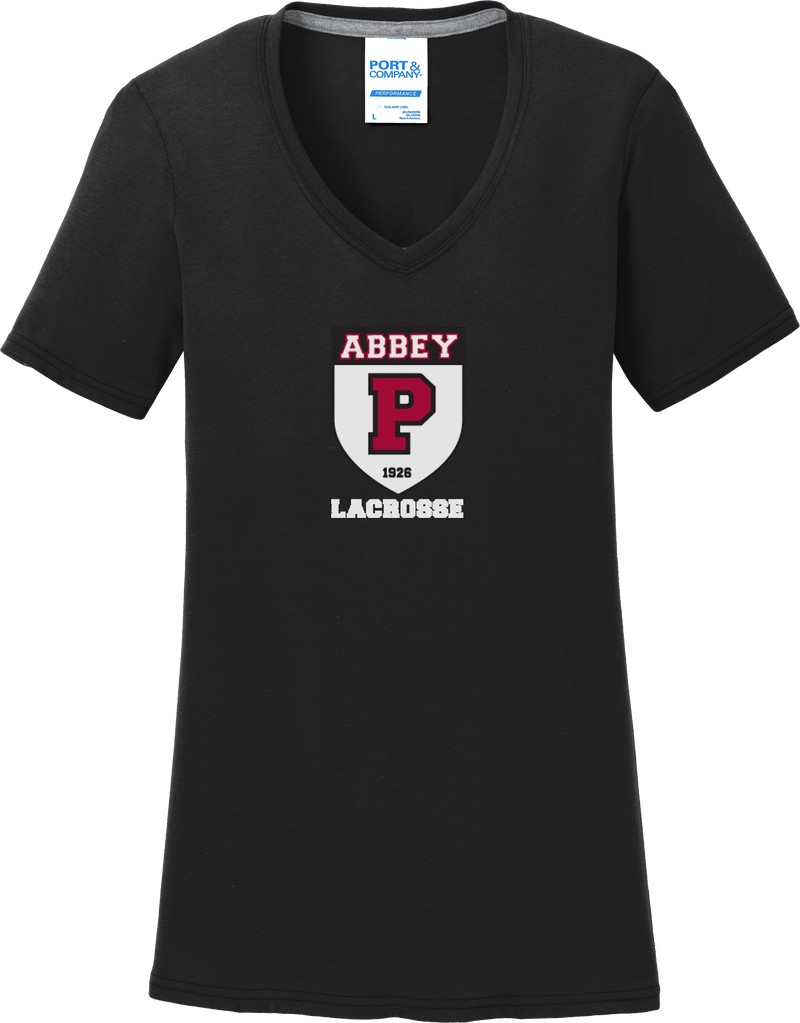 Portsmouth Lacrosse Women's Black T-Shirt