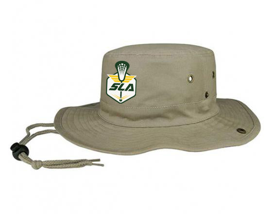 Sycamore Lacrosse Association Khaki Bucket Hat