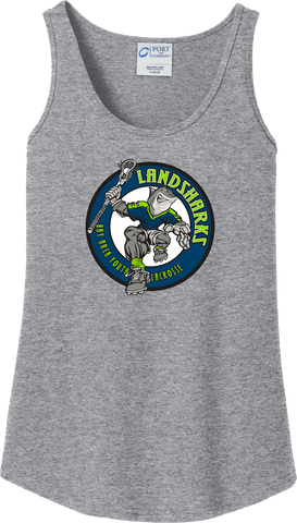 Bay Area Landsharks Women's Grey Tank Top