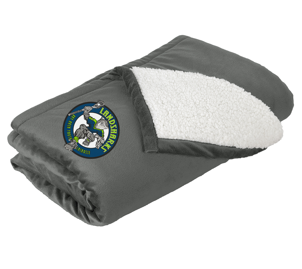 Bay Area Landsharks Blanket