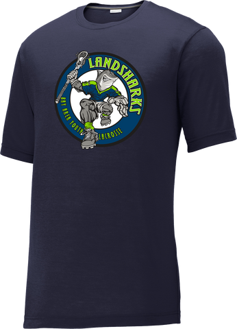 Bay Area Landsharks Navy CottonTouch Performance T-Shirt